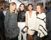 Aurelie Bidermann, Giovanna Battaglia, Zani Gugelmann, Virginia Smith