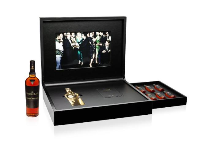 The Macallan Masters of Photography Limited Edition Pack - Mario Testino Edition (PRNewsFoto/The Macallan)