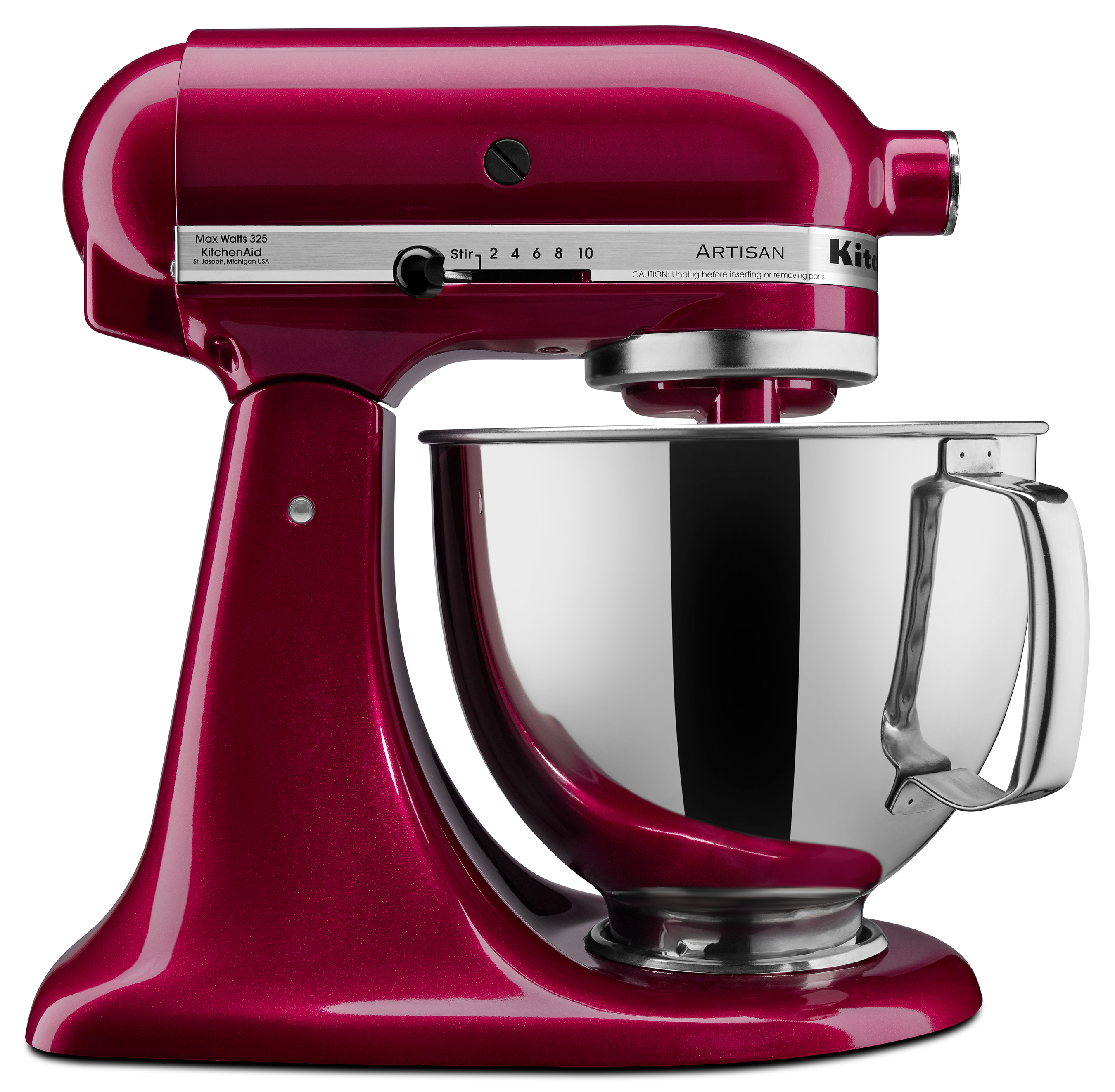 The Bordeaux stand mixer is a blue-based red hue that is both timeless and glamorous. It will be available for the Artisan® Series stand mixer $429.99 beginning in September.