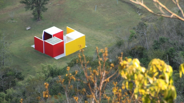 Film still from Hélio Oiticica by Cesar Oiticica Filho, 2012, to be shown as part of the series Cruzamentos: Contemporary Brazilian Documentary, on Friday, February 13 at 2:30 p.m. at the National Gallery of Art, West Building Lecture Hall.  Image courtesy Wide Management