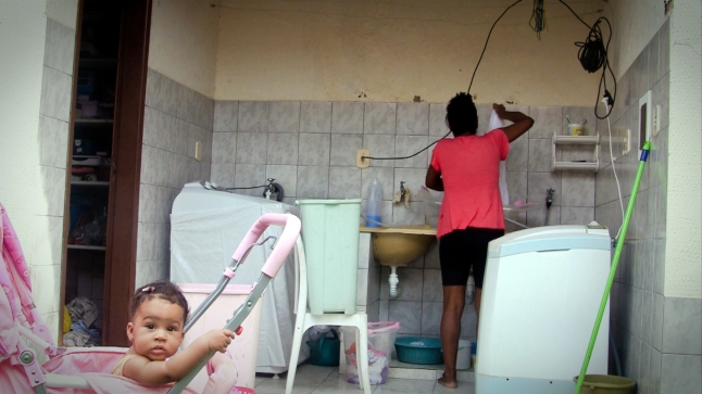 Film still from Housemaids by Gabriel Mascaro, 2013, to be screened as part of the series Cruzamentos: Contemporary Brazilian Documentary, on Sunday, January 25, at 4:30 p.m. at American University, Malsi Doyle and Michael Forman Theater, McKinley Building. Image courtesy Icarus Films