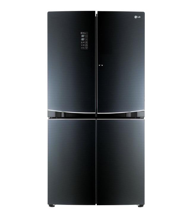 LG Mega-Capacity Refrigerator with Double Door-in-Door(TM) (model LPXS34886C) (PRNewsFoto/LG Electronics, Inc.)