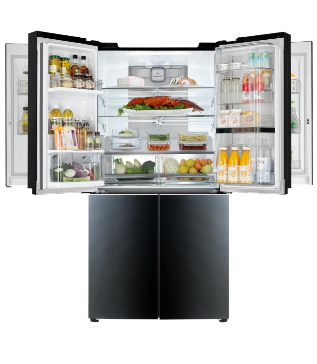 LG Mega-Capacity Refrigerator with Double Door-in-Door(TM) (model LPXS34886C) (PRNewsFoto/LG Electronics, Inc.)
