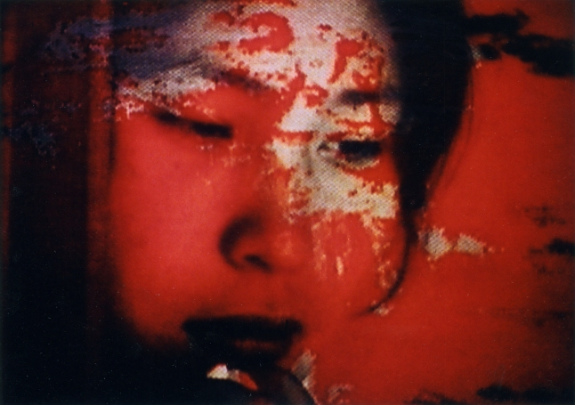 Film still from Level Five by Chris Marker, 1996, to be shown on Sunday, March 29 at 4:00 p.m. and Wednesday, April 1 at 2:00 p.m. the National Gallery of Art, West Building Lecture Hall. Image courtesy Icarus Films