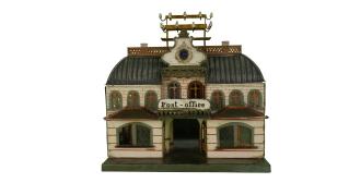 Märklin Post Office, 1895. New-York Historical Society, The Jerni Collection.