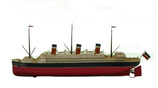 Gebruder Bing Leviathan ocean liner, 1920. New-York Historical Society, The Jerni Collection.