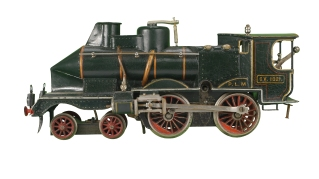Märklin 5-gauge locomotive, 1905. New-York Historical Society, The Jerni Collection.