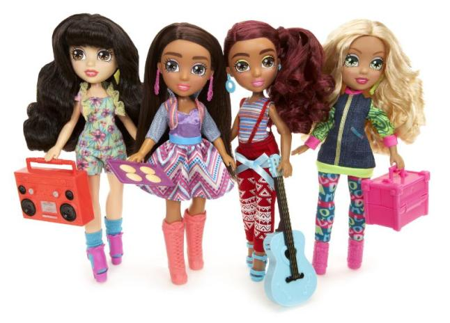 Vi and Va, new fashion doll line inspired by Latin culture, launches at Target Stores. (PRNewsFoto/MGA Entertainment)