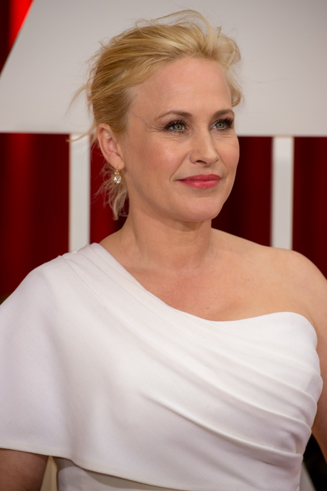 "Actress Patricia Arquette, Oscar® winner for Achievement in Actress in a Supporting Role, for work on ""Boyhood"" arrives for the live ABC Telecast of The 87th Oscars® at the Dolby® Theatre in Hollywood, CA on Sunday, February 22, 2015. (Mark Suban / ©A.M.P.A.S.)"