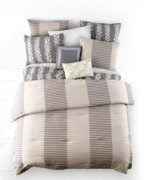 Shown: Whim Two-Tone Stripe Comforter Set $140-$200. (Photo: Business Wire)