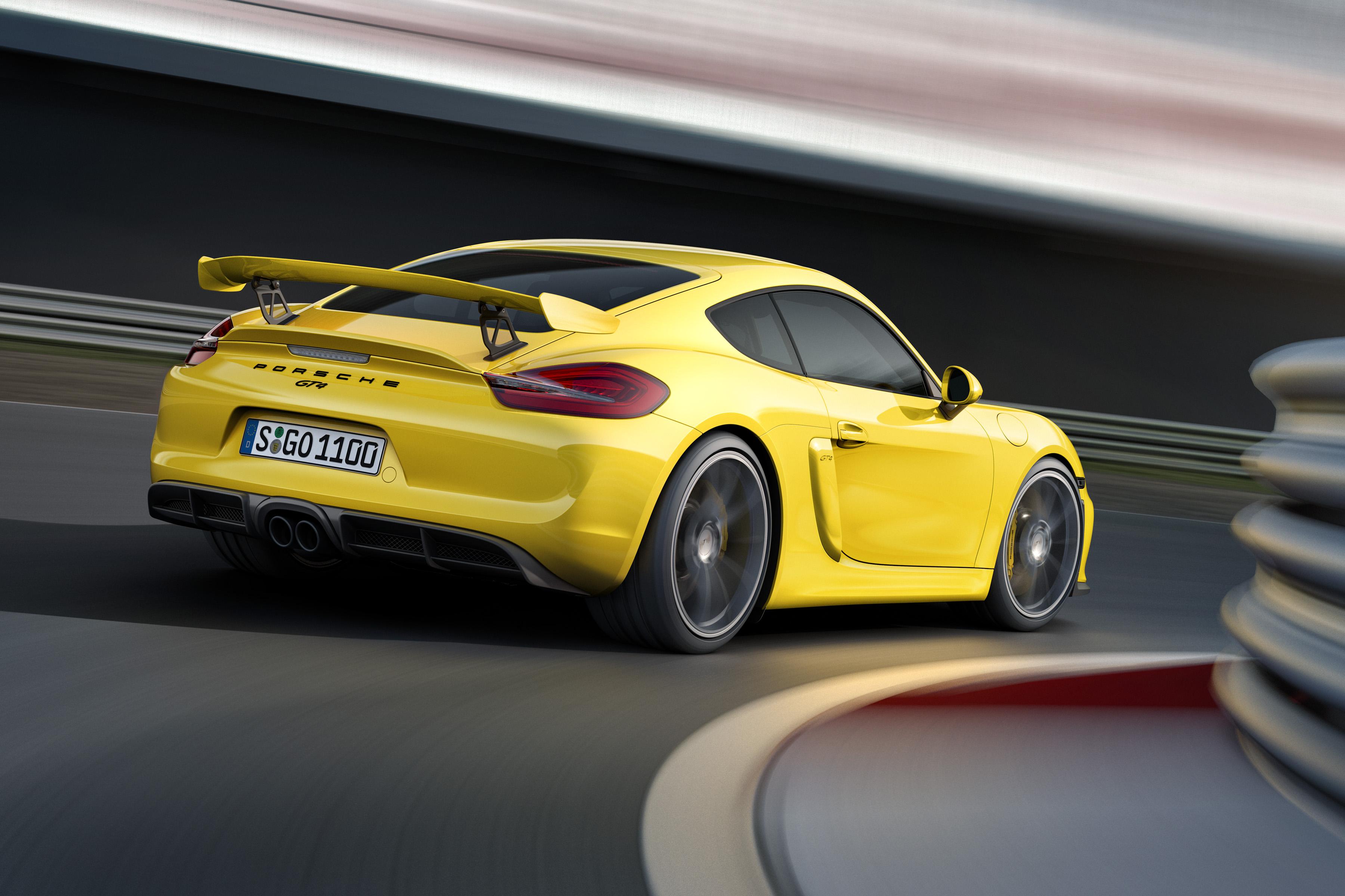 Porsche's New Cayman GT4