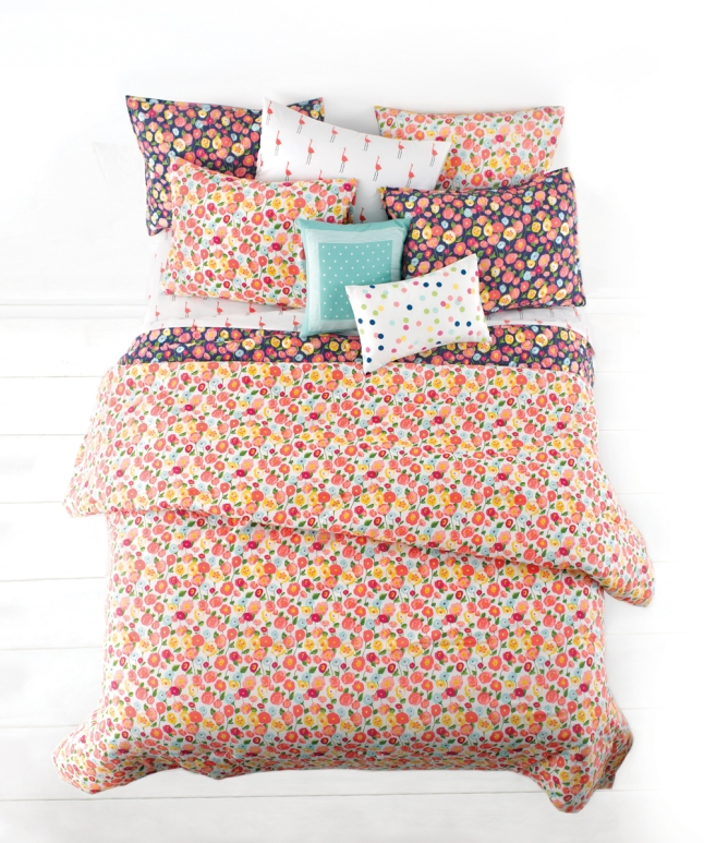 Whim Pretty in Poppy Comforter Set $140-$200. (Photo: Business Wire)
