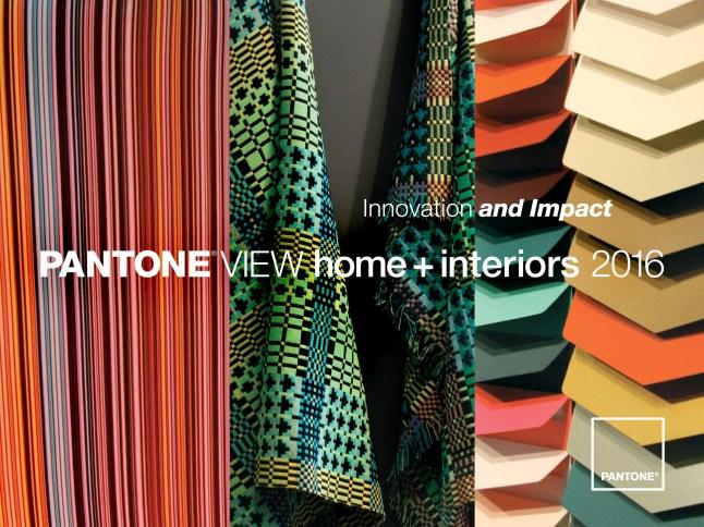 PANTONE VIEW home + interiors 2016 (PRNewsFoto/Pantone LLC)