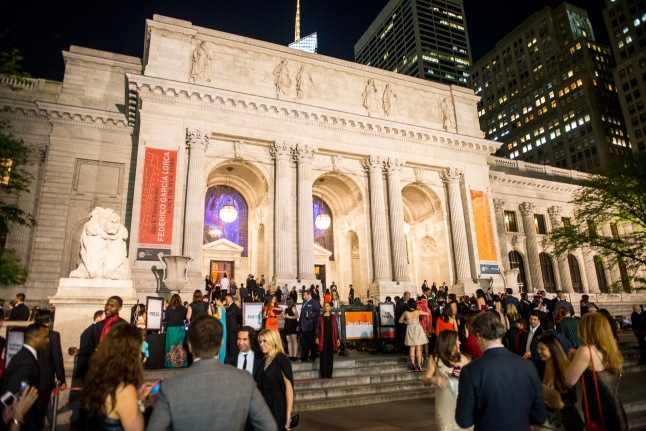 The Manhattan Cocktail Classic opening night Gala at The New York Public Library on Friday, May 17, 2013. Photography Credit: Gabi Porter