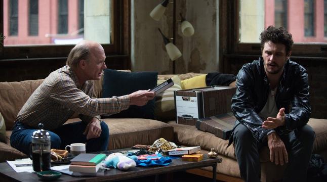 Stephen Elliott (James Franco) and Neil Elliott (Ed Harris) Anna Kooris