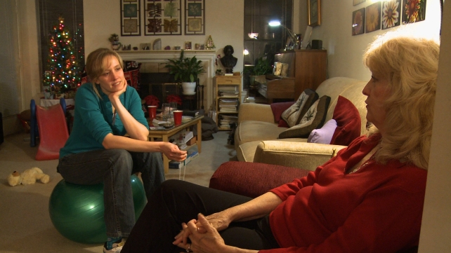 While home for the holidays in Alabama, Kelly discusses Courtship with her mother. Kelly's mother opposes Courtship. Photographer: Evan Eames