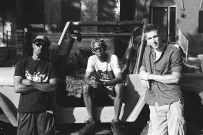 (left to right) Zurich Buckner, George Sample III, Brian Kowalski Photo By Cristian Carretero