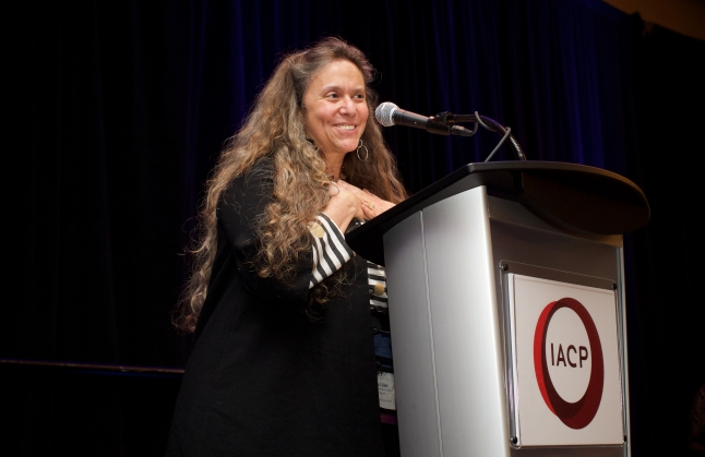 IACP Conference - Sunday Cookbook and Media awards: Tina Ujlaki, Food & Wine Executive Food Editor, accepts multiple awards for the magazine including Publication of the Year.