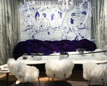 DIFFA's DINING BY DESIGN table viewing at Pier 92 at the Architectural Digest Home Design Show 2014: DIFFA Table