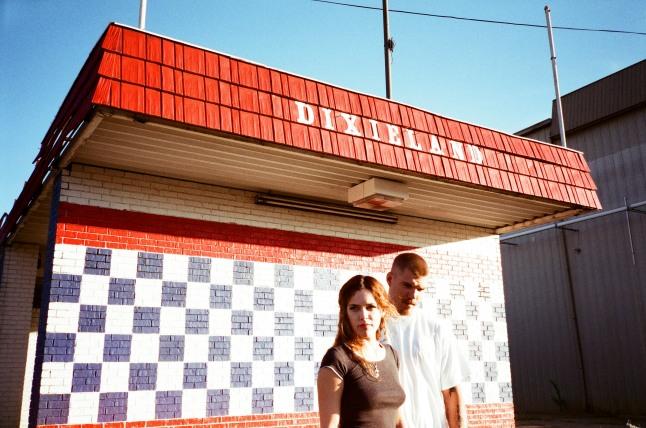 Rachel (Riley Keough) & Kermit (Chris Zylka) Still photogapher: Khaki Bedford