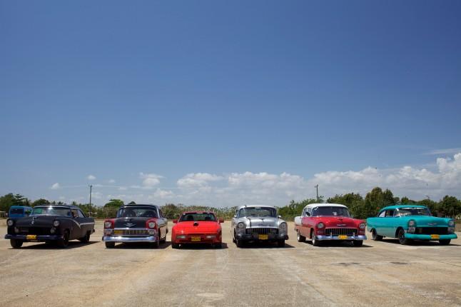 Ready to Race in Havana Motor Club Photographer: Patrik Graham
