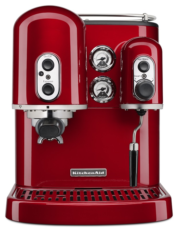 KitchenAid Pro Line Series Manual Espresso - Empire Red