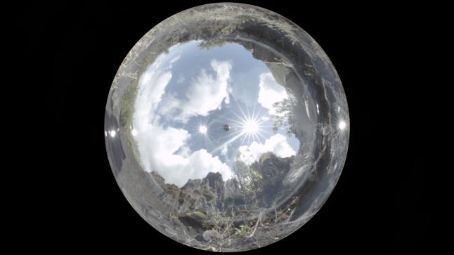 Tondoscope view. Photography by Hans de Bruch Jr.