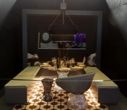 DIFFA's DINING BY DESIGN table viewing at Pier 92 at the Architectural Digest Home Design Show 2014: M Moser Associates