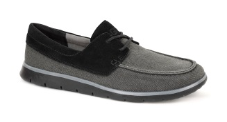 Catton Black: Ultra lightweight, flexible and durable, the Catton's cushioning outsole uses innovative new Treadlite by UGG™ technology. The suede and canvas moc-toe silhouette features an extra element of versatility and personalization with new, interchangeable Twinsole™.