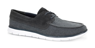 Catton Blue: Ultra lightweight, flexible and durable, the Catton's cushioning outsole uses innovative new Treadlite by UGG™ technology. The suede and canvas moc-toe silhouette