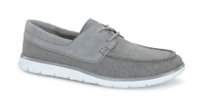 Catton: Ultra lightweight, flexible and durable, the Catton's cushioning outsole uses innovative new Treadlite by UGG™ technology. The suede and canvas moc-toe silhouette