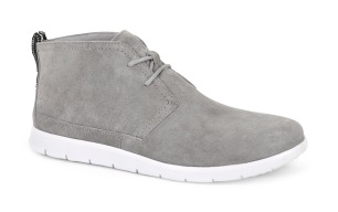 MEN'S FREAMON-CANVAS: Ultra lightweight, flexible and durable, the Freamon's cushioning outsole uses innovative new Treadlite by UGG™ technology. The water-resistant suede and canvas upper features an extra element of versatility and personalization with new, interchangeable Twinsole™. (INSOLE: Interchangeable 7mm Curly UGGpure™ and canvas lined insole; OUTSOLE: Custom designed Treadlite by UGG™ with RMAT technology outsole.)