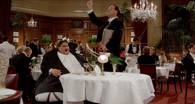 Monty Python's Meaning of Life - Mr. Creosote (Terry Jones) Maitre D? (John Cleese)