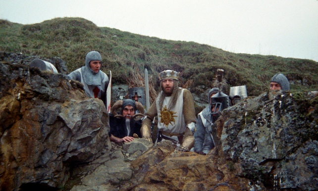 Monty Python and the Holy Grail, directed by Terry Gilliam and Terry Jones