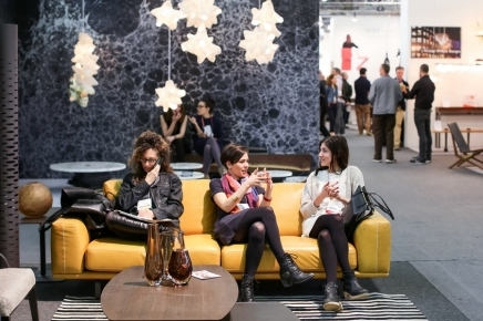 Natuzzi at the 2014 Architectural Digest Home Design Show