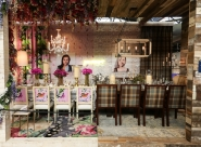 DIFFA's DINING BY DESIGN table viewing at Pier 92 at the Architectural Digest Home Design Show 2014: New York Design Center