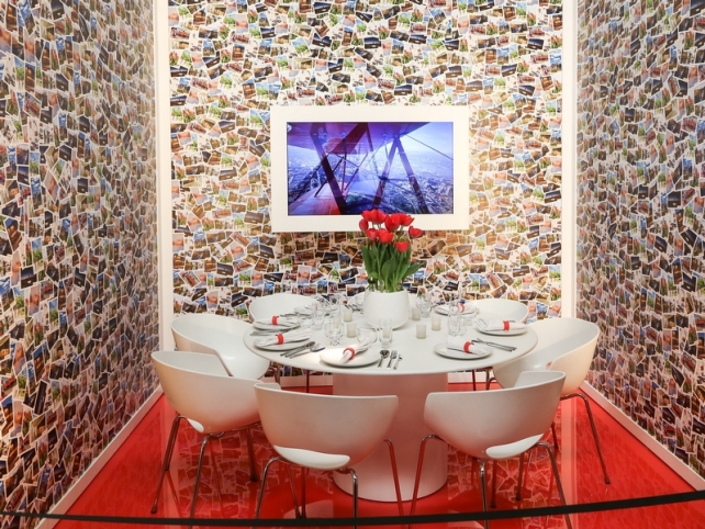 DIFFA's DINING BY DESIGN table viewing at Pier 92 at the Architectural Digest Home Design Show 2014: Ottawa Canada's Capital
