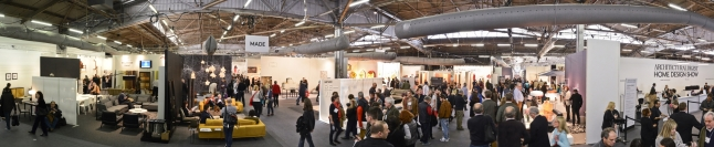 Panoramic View at the 2014 Architectural Digest Home Design Show