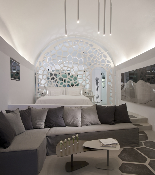 The Villa Master Suite Seating Area