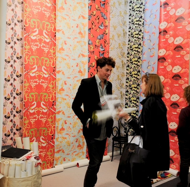 Voutsa at the 2014 Architectural Digest Home Design Show