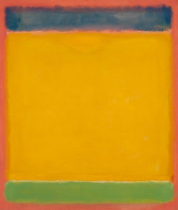 Mark Rothko (1903–1970), Untitled (Blue, Yellow, Green on Red), 1954. Oil on canvas; 77 3/4 × 65 1/2in. (197.5 × 166.4 cm). Whitney Museum of American Art, New York; gift of The American Contemporary Art Foundation, Inc., Leonard A. Lauder, President 2002.261. © 2015 Kate Rothko Prizel and Christopher Rothko/Artists Rights Society (ARS), New York