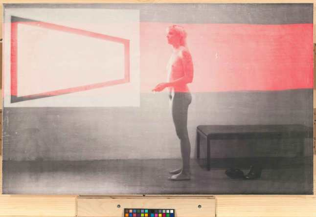 R. H. Quaytman (b. 1961).  Distracting Distance, Chapter 16, 2010.  	Screenprint and gesso on wood,      24 5/8 × 39 7/8in. (62.5 × 101.3 cm).  	Whitney Museum of American Art, New York; purchase, with funds      from the Painting and Sculpture Committee  2010.54.  © R. H. Quaytman