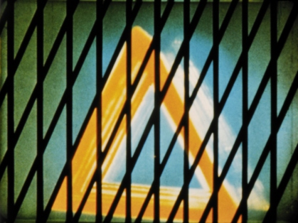 Mary Ellen Bute (1906–1983), Synchromy No. 4: Escape, 1937–1938. 16mm film, color, sound, 4 min. Whitney Museum of American Art, New York; purchase, with funds from the Film, Video, and New Media Committee 2014.1