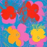 Andy Warhol (1928–1987), Flowers, 1970. Screenprint; 36 × 36in. (91.4 × 91.4 cm). Whitney Museum of American Art, New York; gift of David Whitney 71.179.1. © 2015 Andy Warhol Foundation/Artists Rights Society (ARS) New York, NY