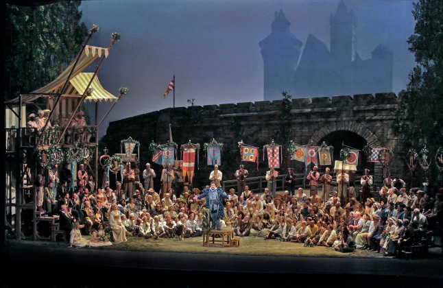 Great Performances at the Met: Die Meistersinger von Nürnberg: A scene from Wagner's Die Meistersinger von Nürnberg. Photo: Ken Howard/Metropolitan Opera