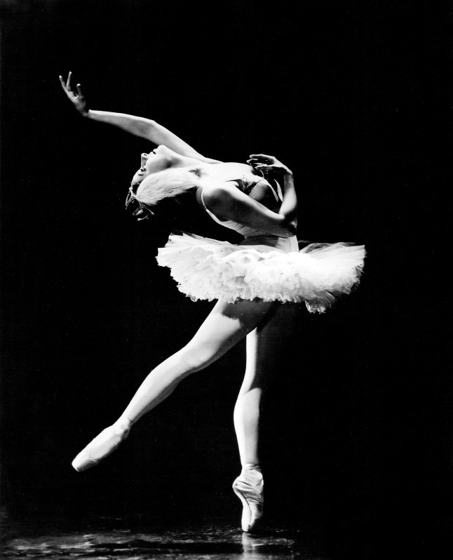 "Alicia Alonso in ""Swan Lake."" Credit: Photo by Maurice Seymour"