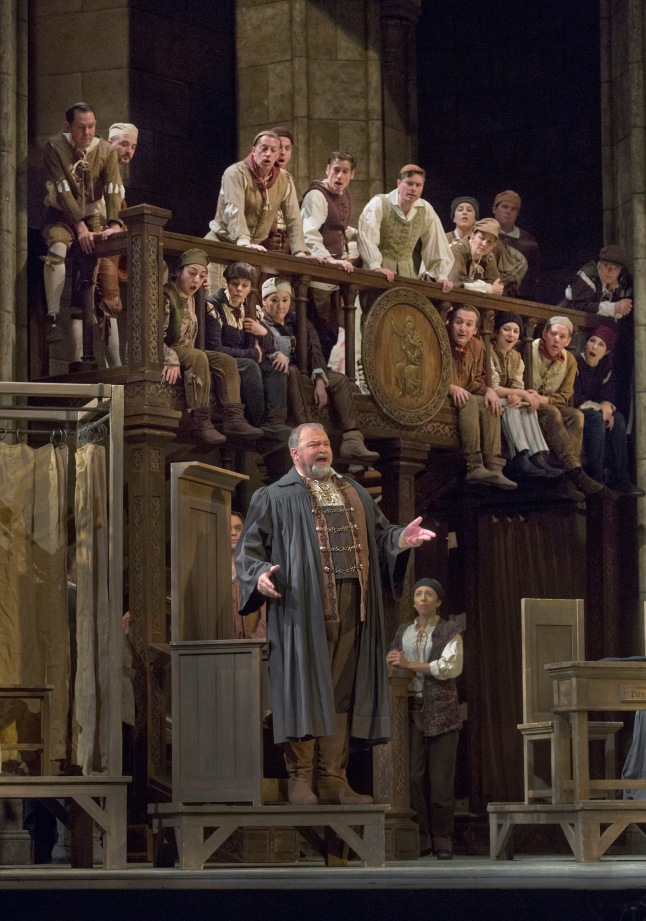 Great Performances at the Met: Die Meistersinger von Nürnberg: Hans-Peter König as Pogner in Wagner's Die Meistersinger von Nürnberg. Photo: Ken Howard/Metropolitan Opera