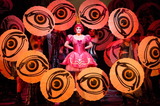 "Great Performances at the Met: ""Les Contes d'Hoffmann"" - Erin Morley as Olympia in Offenbach's ""Les Contes d'Hoffmann."" Photo: Marty Sohl/Metropolitan Opera"