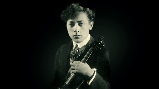 Jascha Heifetz. Credit: Library of Congress