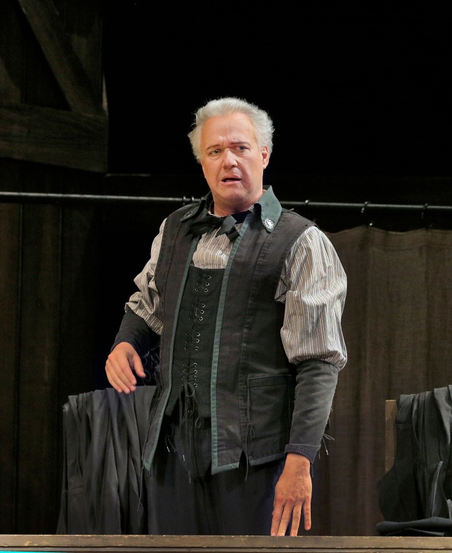 "Great Performances at the Met: Die Meistersinger von Nürnberg: Johannes Martin Kränzle as Beckmesser in Wagner's ""Die Meistersinger von Nürnberg."" Photo: Ken Howard/Metropolitan Opera"